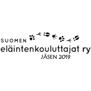 Suomen eläintenkouluttajat ry:n logo.
